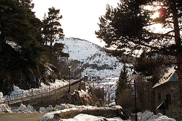 Río Aguas Limpias en Sallent de Gállego