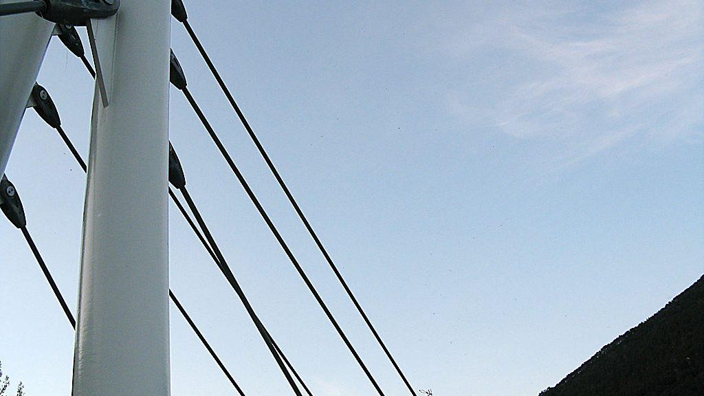 Puente nuevo sobre el Ara (Broto)