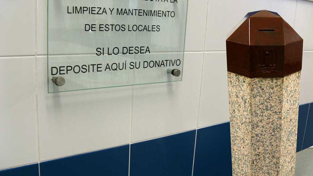 Donativos en los servicios