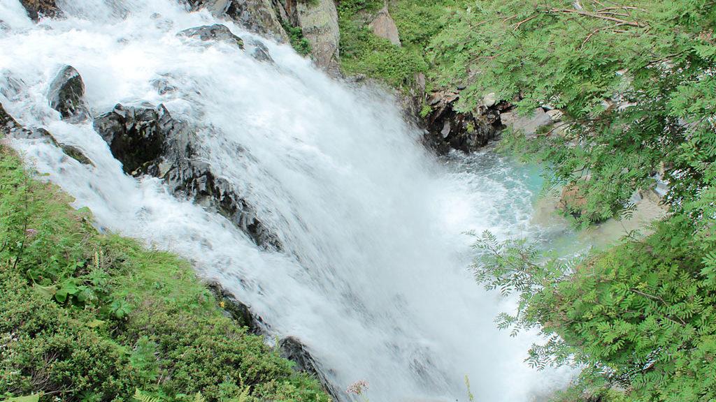Cascada del Forau de Aiguallut