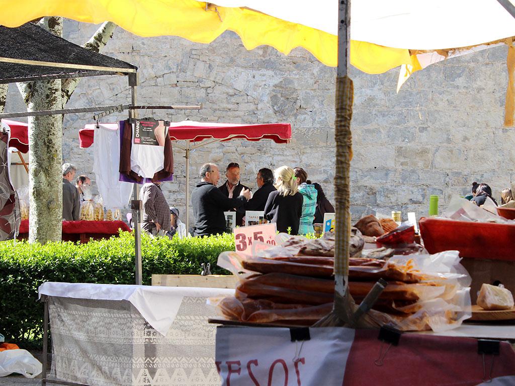 Feria tradicional de Boltaña