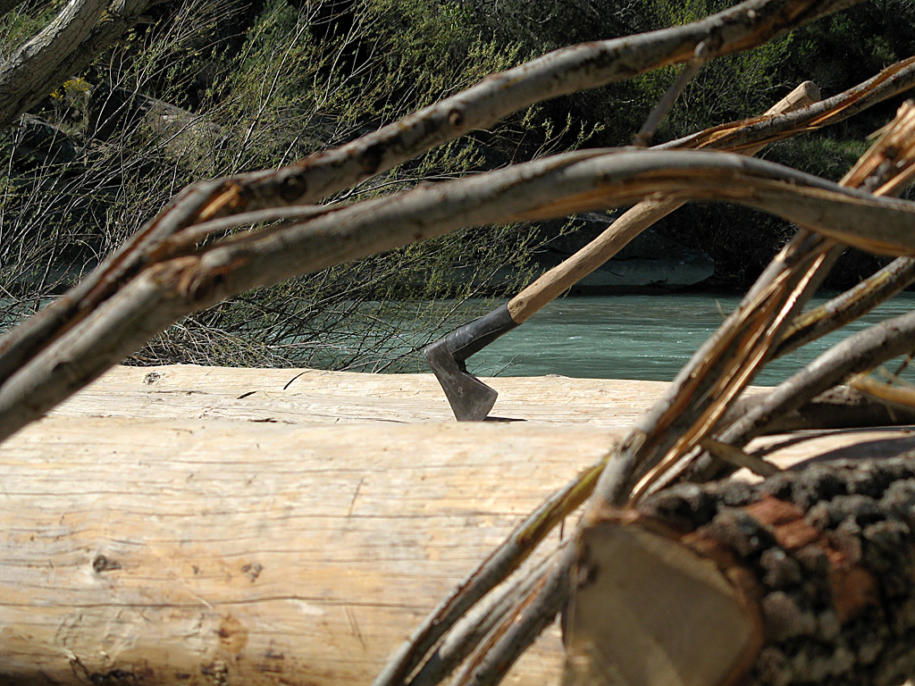 Construcción de nabatas en Murillo de Gállego