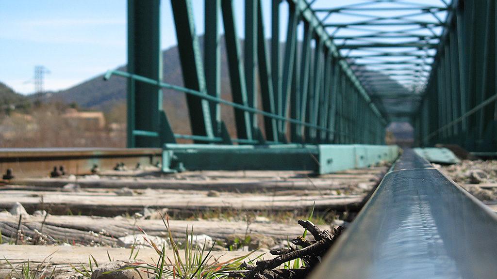 Puente ferroviario de La Peña Estación