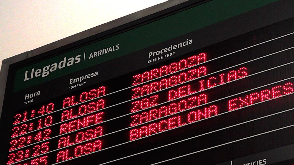 Estación de Huesca