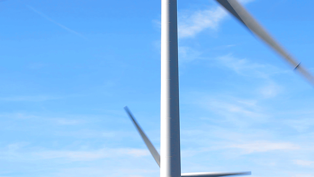 Molinos de viento. Tardienta