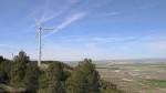 Molinos de viento en Tardienta