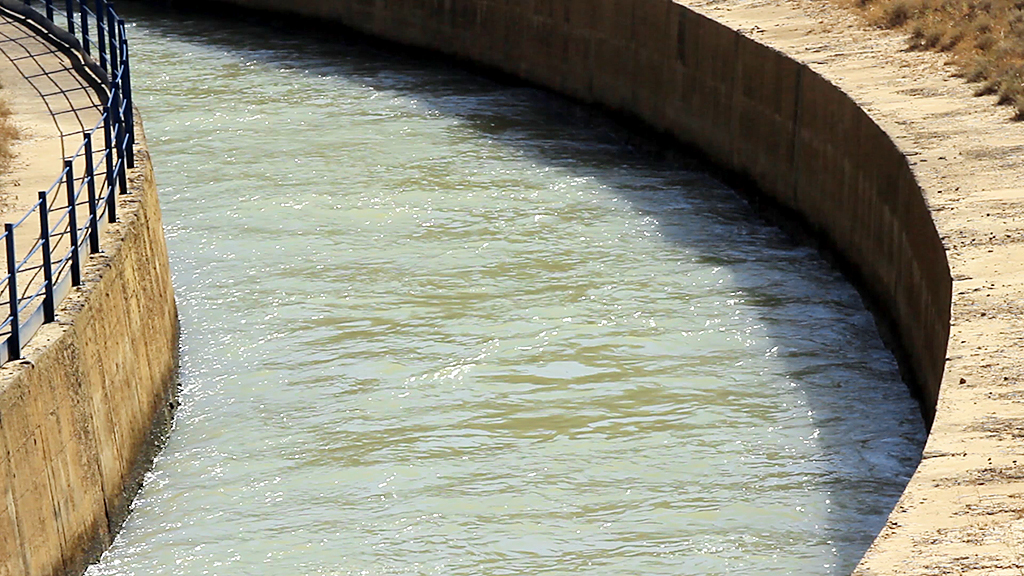 Canal del Cinca desde Valdabra hacia Los Monegros